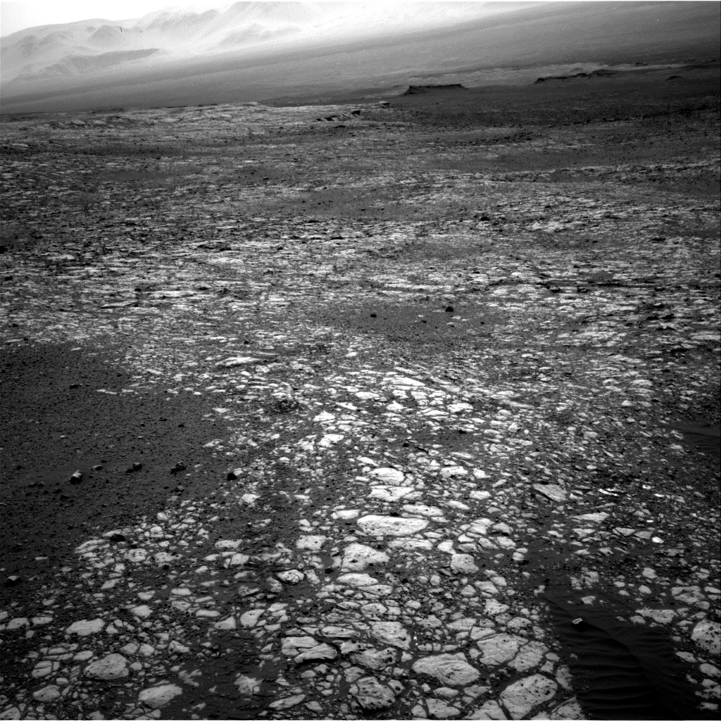 Nasa's Mars rover Curiosity acquired this image using its Right Navigation Camera on Sol 2012, at drive 1384, site number 69