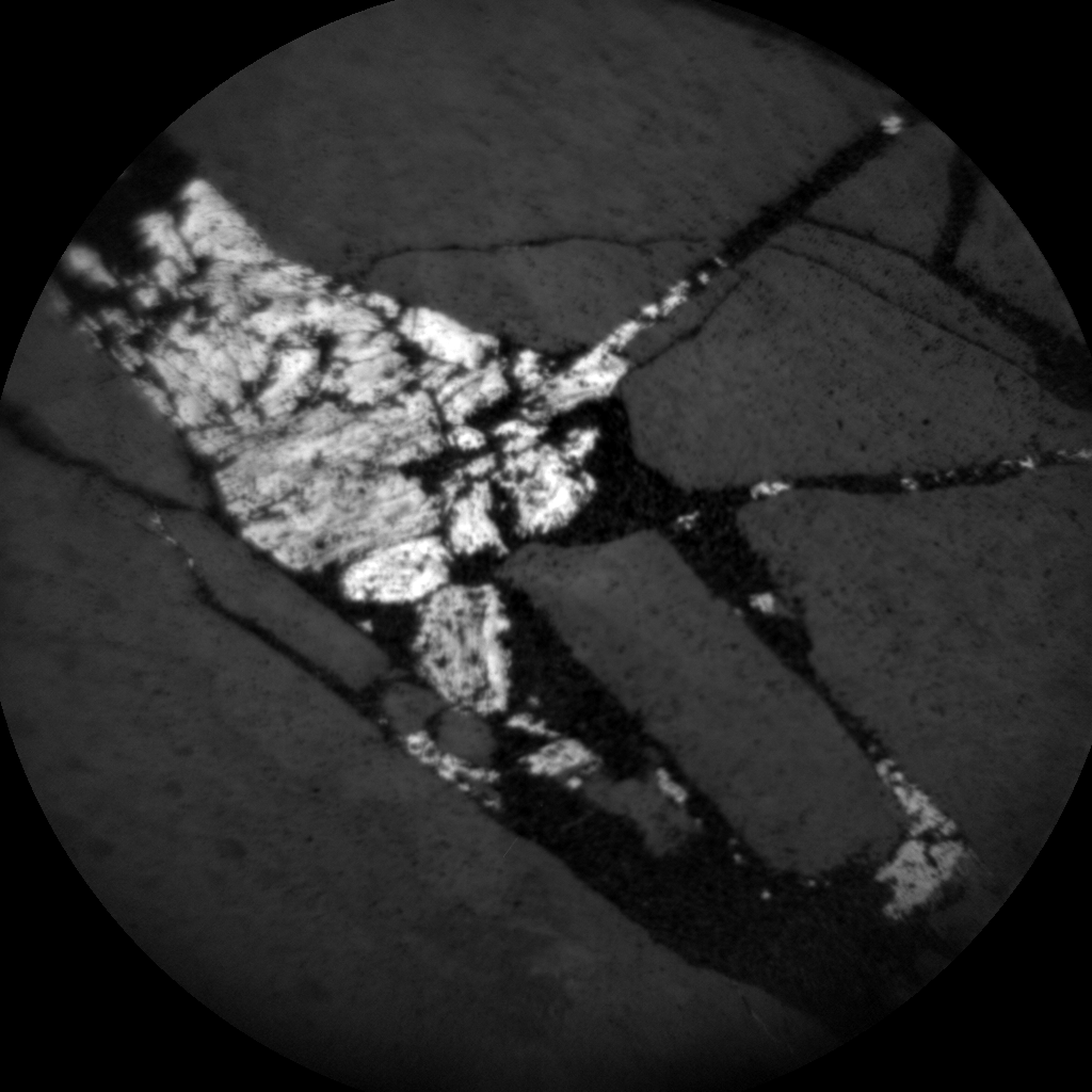 Nasa's Mars rover Curiosity acquired this image using its Chemistry & Camera (ChemCam) on Sol 2012, at drive 1072, site number 69