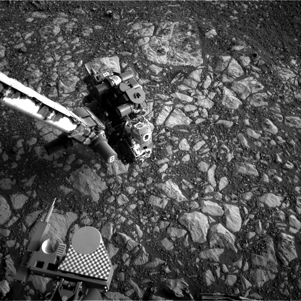 Nasa's Mars rover Curiosity acquired this image using its Right Navigation Camera on Sol 2013, at drive 1384, site number 69