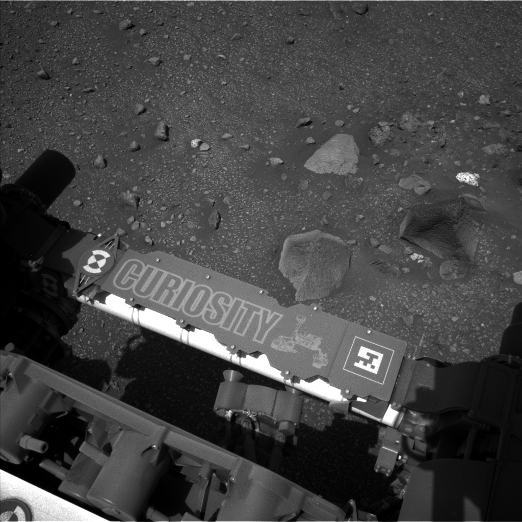 NASA's Mars rover Curiosity acquired this image using its Left Navigation Camera (Navcams) on Sol 2014
