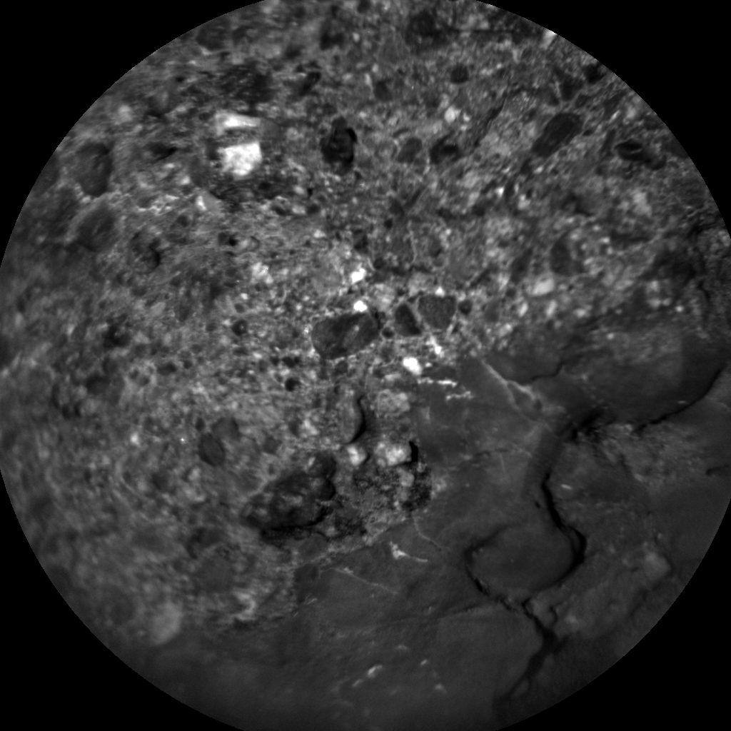 Nasa's Mars rover Curiosity acquired this image using its Chemistry & Camera (ChemCam) on Sol 2015, at drive 1552, site number 69
