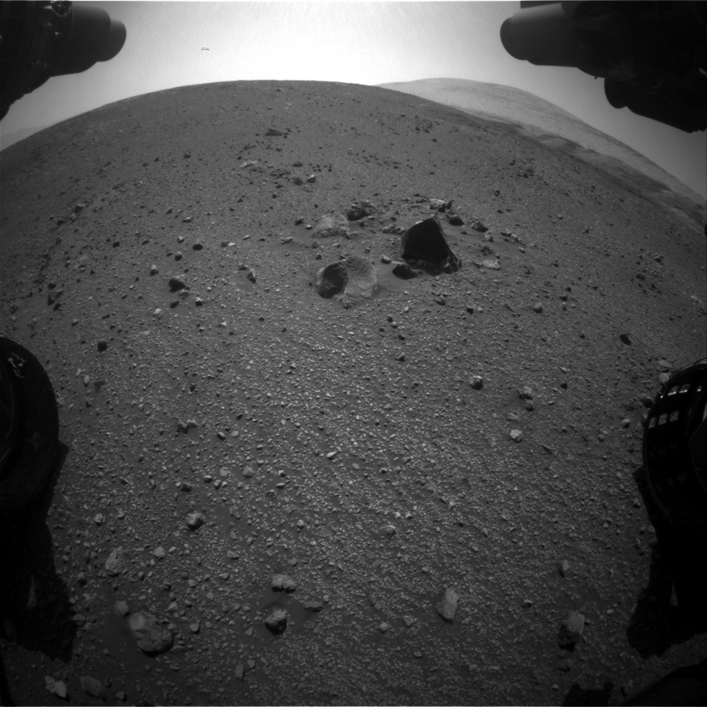 NASA's Mars rover Curiosity acquired this image using its Front Hazard Avoidance Cameras (Front Hazcams) on Sol 2016