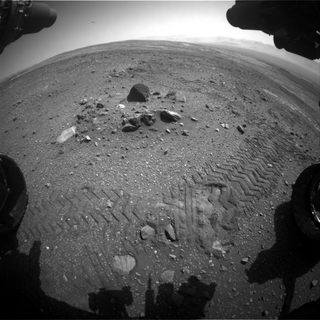 Nasa's Mars rover Curiosity acquired this image using its Front Hazard Avoidance Camera (Front Hazcam) on Sol 2017, at drive 1648, site number 69