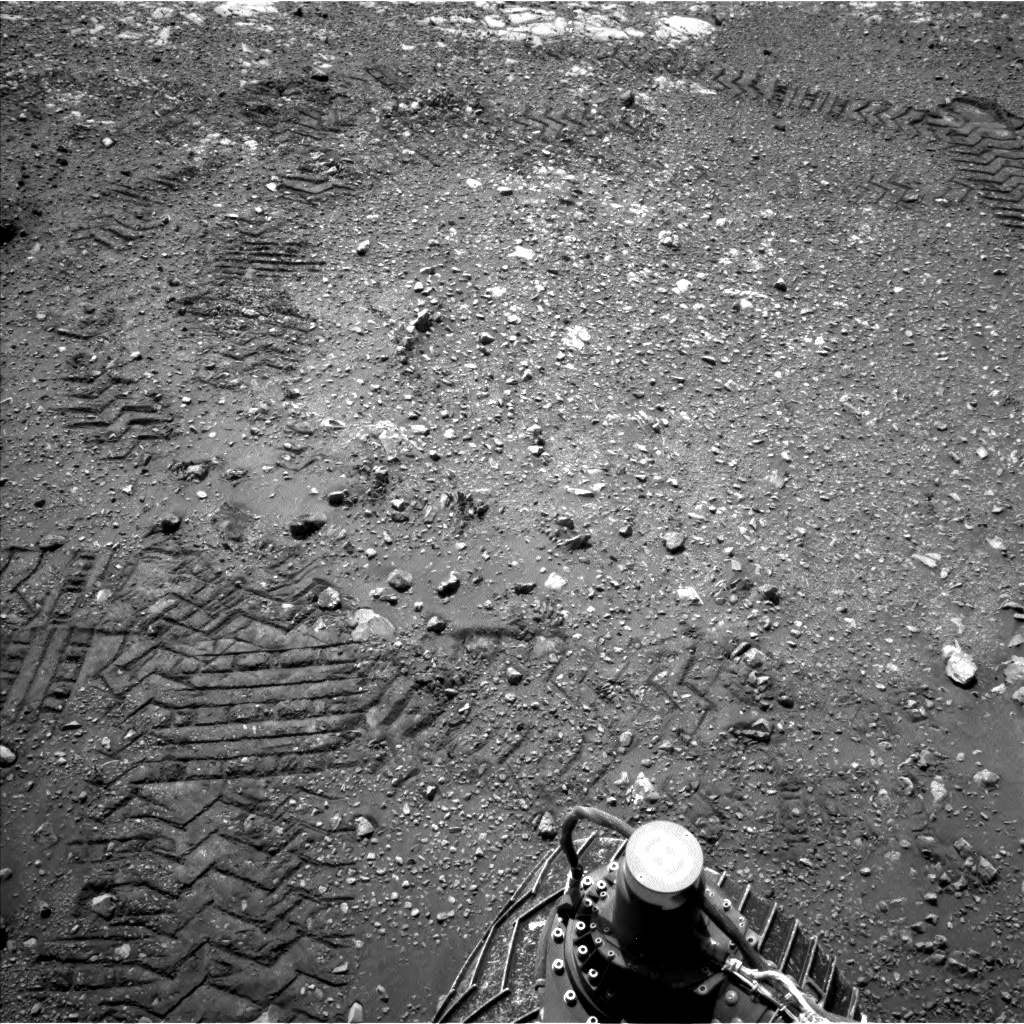 Nasa's Mars rover Curiosity acquired this image using its Left Navigation Camera on Sol 2017, at drive 1648, site number 69