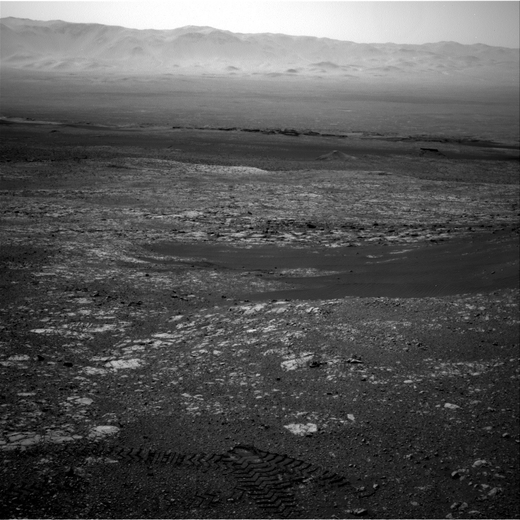 NASA's Mars rover Curiosity acquired this image using its Right Navigation Cameras (Navcams) on Sol 2017