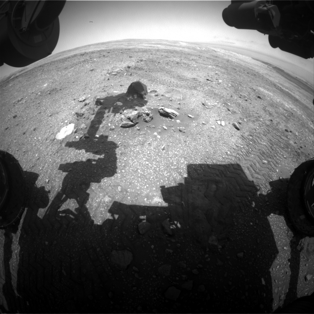 Nasa's Mars rover Curiosity acquired this image using its Front Hazard Avoidance Camera (Front Hazcam) on Sol 2018, at drive 1648, site number 69