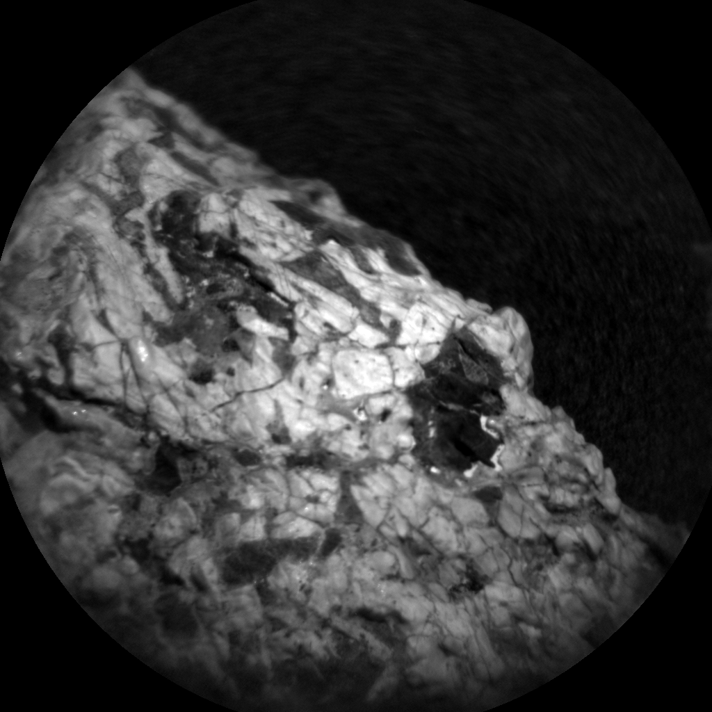 Nasa's Mars rover Curiosity acquired this image using its Chemistry & Camera (ChemCam) on Sol 2018, at drive 1648, site number 69