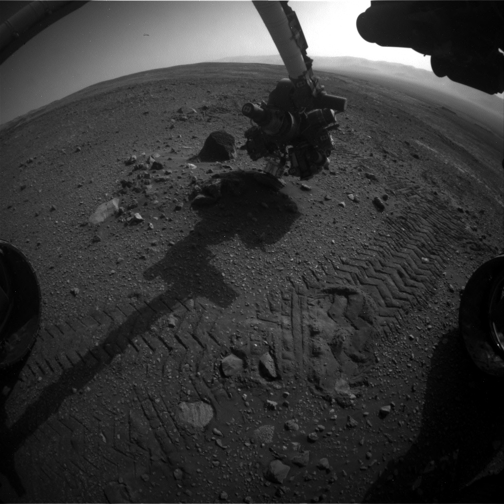 Nasa's Mars rover Curiosity acquired this image using its Front Hazard Avoidance Camera (Front Hazcam) on Sol 2019, at drive 1648, site number 69