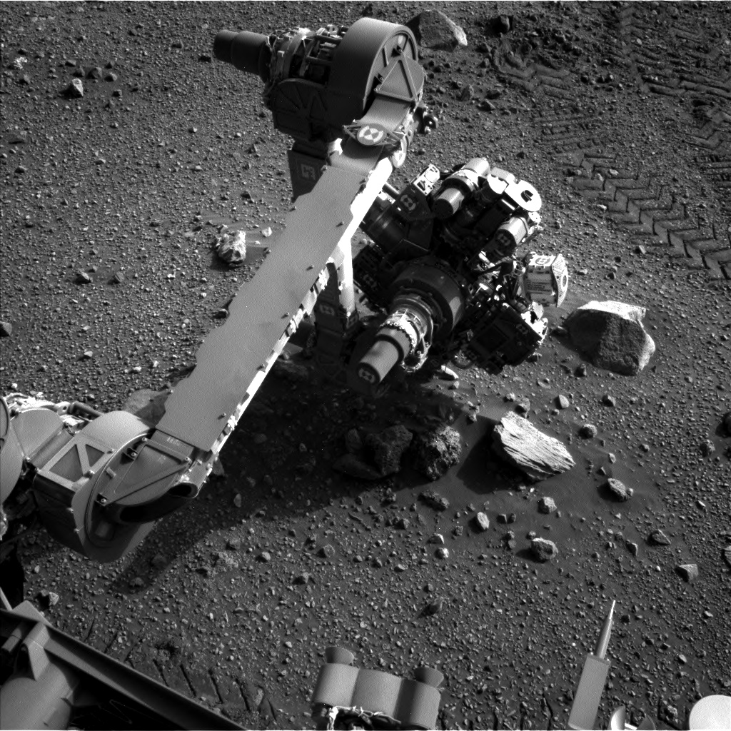 Nasa's Mars rover Curiosity acquired this image using its Left Navigation Camera on Sol 2019, at drive 1648, site number 69
