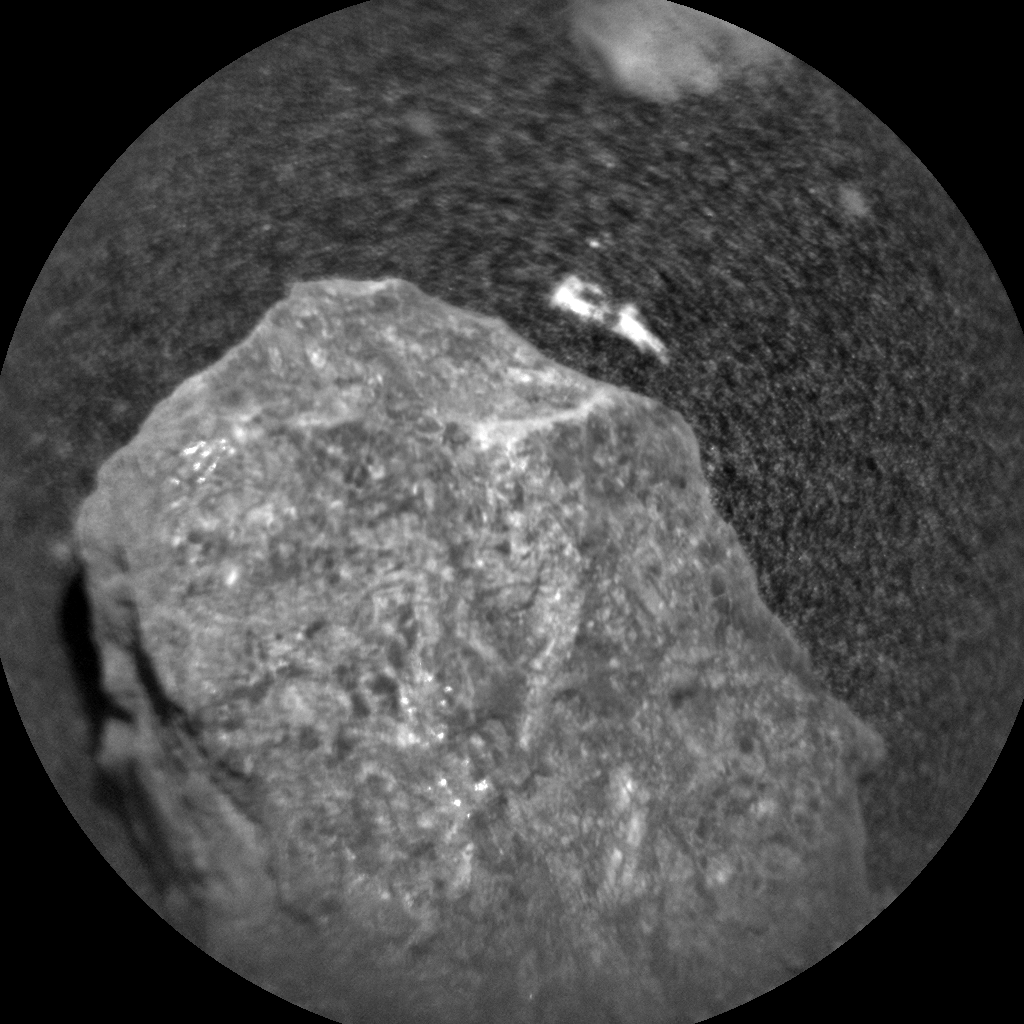 Nasa's Mars rover Curiosity acquired this image using its Chemistry & Camera (ChemCam) on Sol 2019, at drive 1648, site number 69