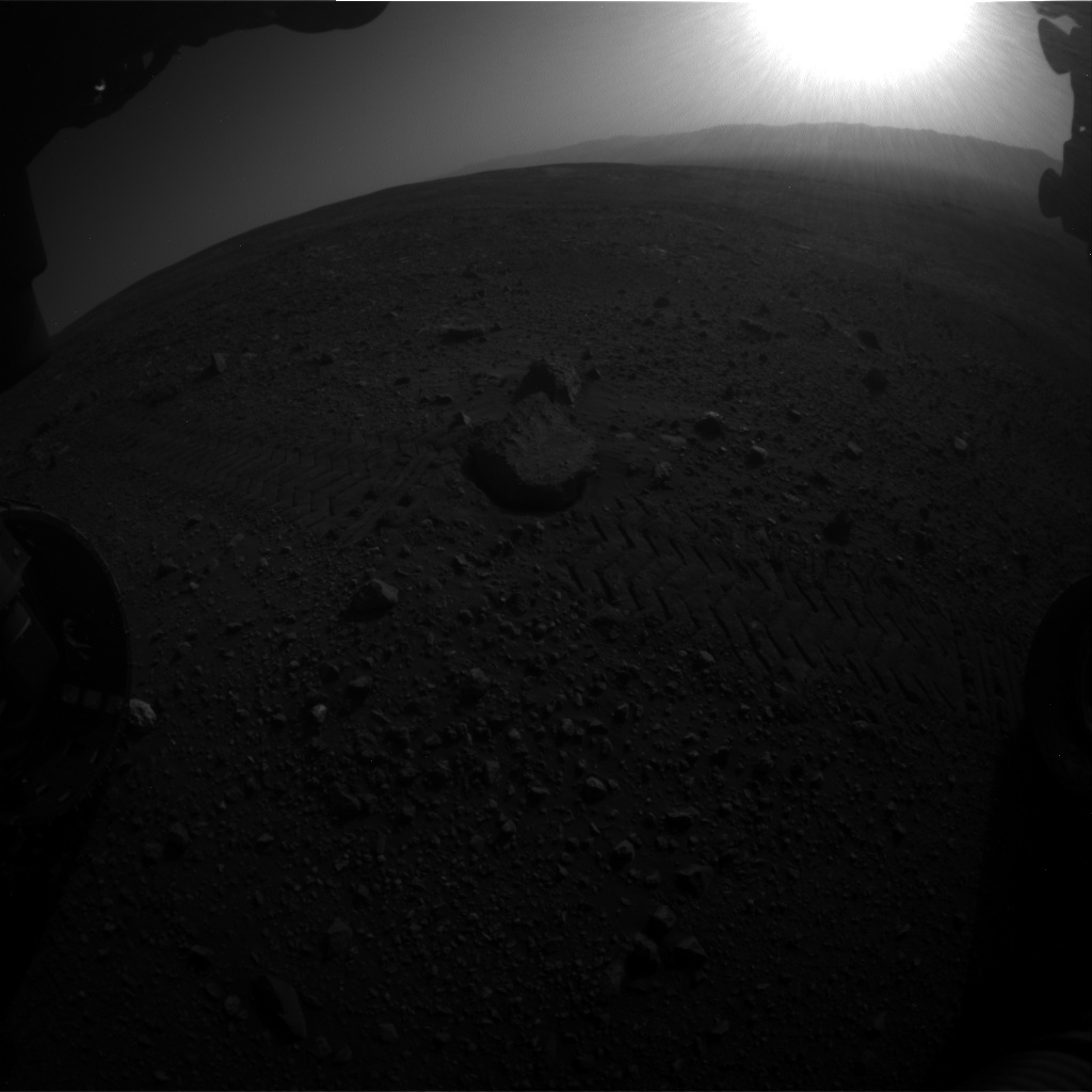 Nasa's Mars rover Curiosity acquired this image using its Front Hazard Avoidance Camera (Front Hazcam) on Sol 2020, at drive 1768, site number 69