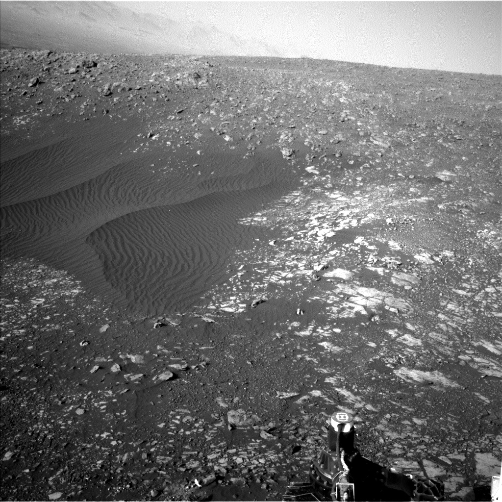 Nasa's Mars rover Curiosity acquired this image using its Left Navigation Camera on Sol 2020, at drive 1768, site number 69