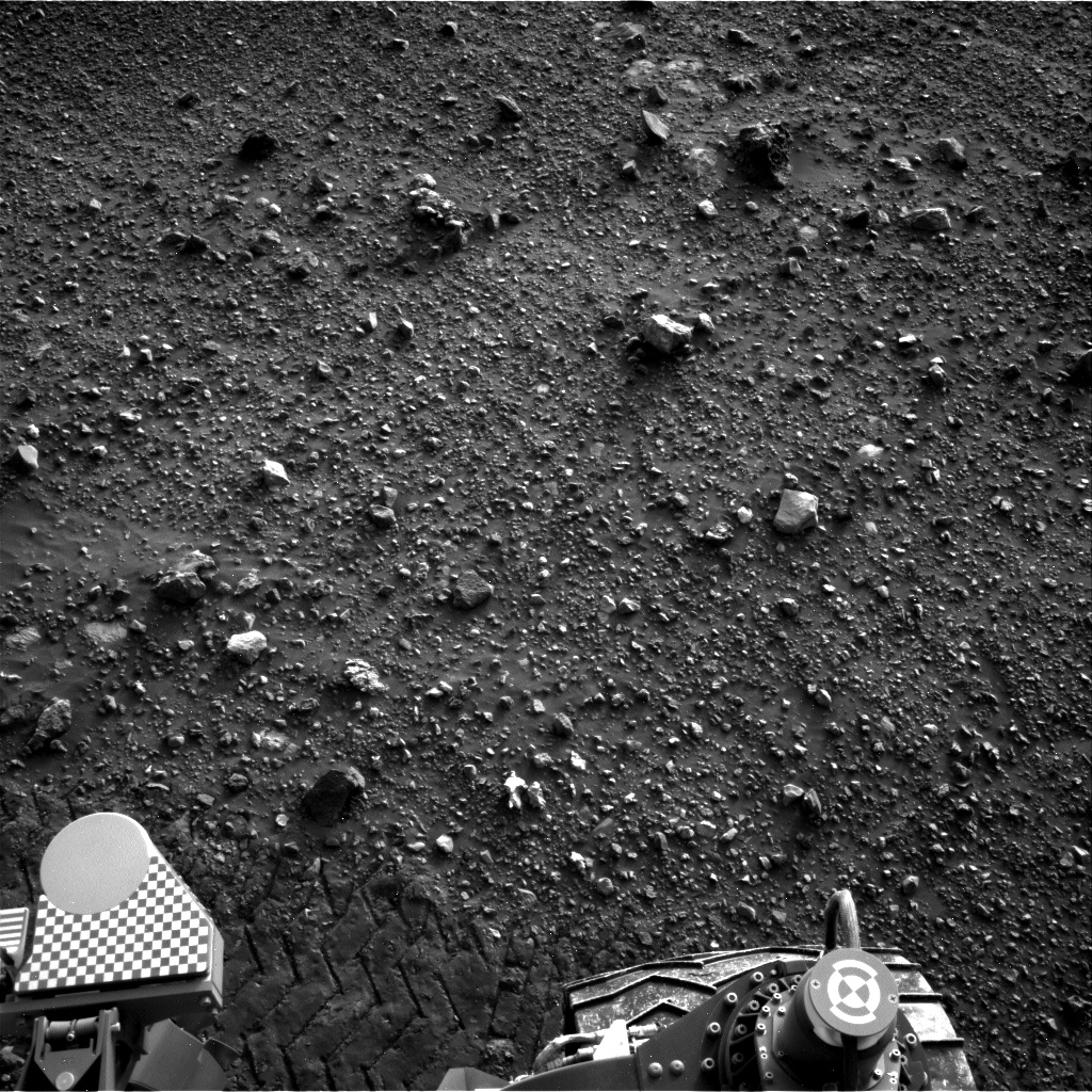 Nasa's Mars rover Curiosity acquired this image using its Right Navigation Camera on Sol 2020, at drive 1768, site number 69