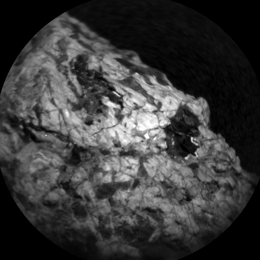 Nasa's Mars rover Curiosity acquired this image using its Chemistry & Camera (ChemCam) on Sol 2020, at drive 1648, site number 69