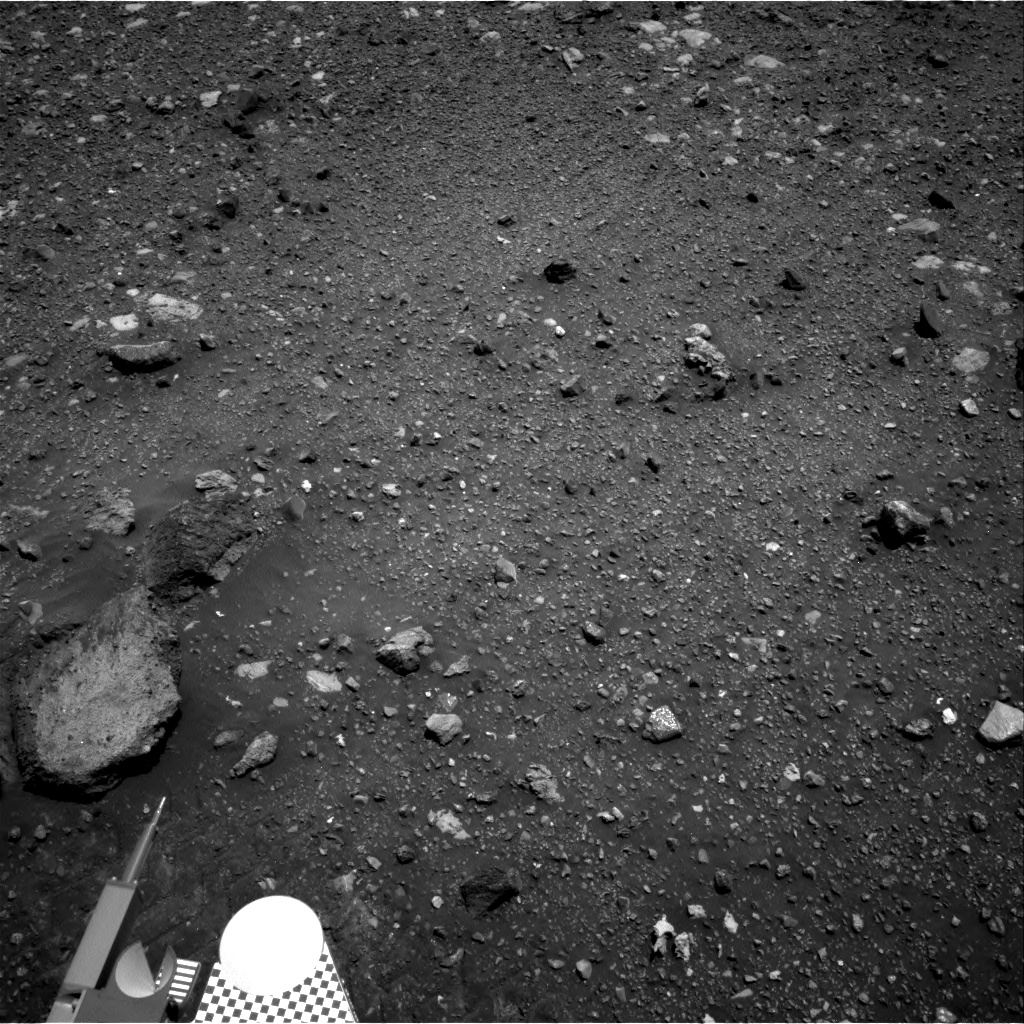 Nasa's Mars rover Curiosity acquired this image using its Right Navigation Camera on Sol 2021, at drive 1768, site number 69