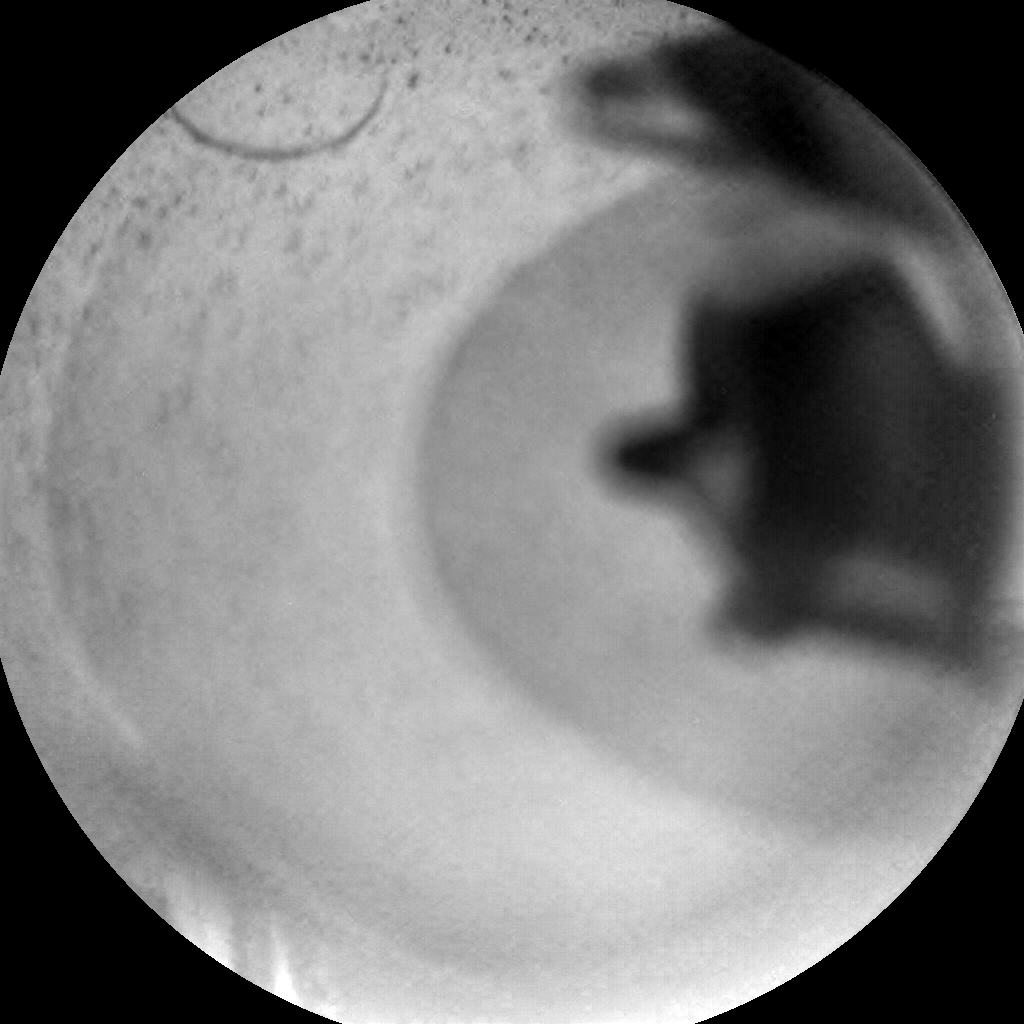 Nasa's Mars rover Curiosity acquired this image using its Chemistry & Camera (ChemCam) on Sol 2021, at drive 1768, site number 69