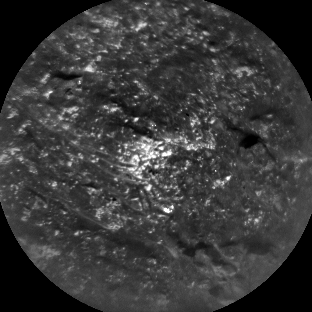 Nasa's Mars rover Curiosity acquired this image using its Chemistry & Camera (ChemCam) on Sol 2022, at drive 1768, site number 69