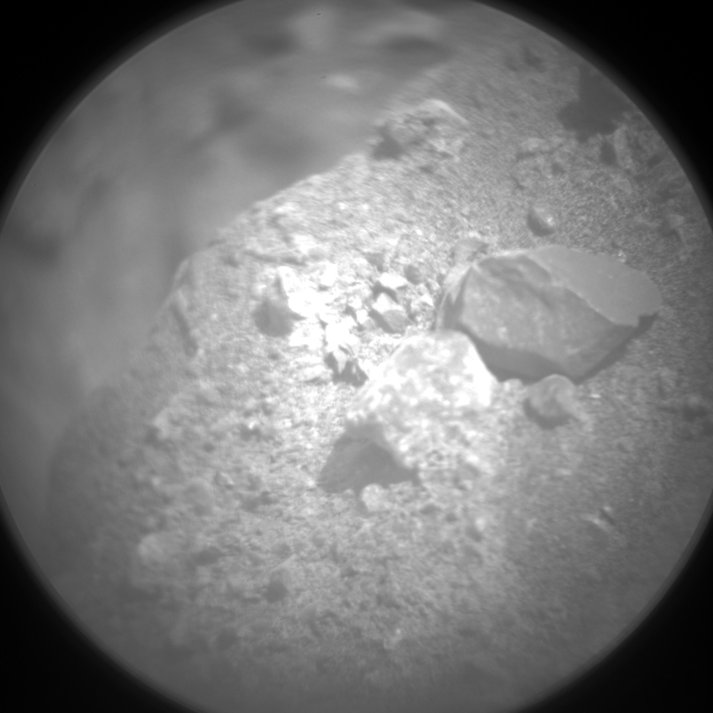 Nasa's Mars rover Curiosity acquired this image using its Chemistry & Camera (ChemCam) on Sol 2023, at drive 1768, site number 69