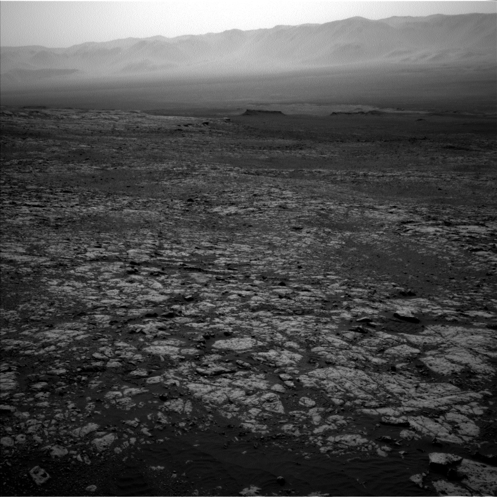 Nasa's Mars rover Curiosity acquired this image using its Left Navigation Camera on Sol 2023, at drive 1858, site number 69