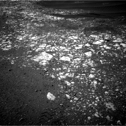 Nasa's Mars rover Curiosity acquired this image using its Right Navigation Camera on Sol 2023, at drive 1768, site number 69