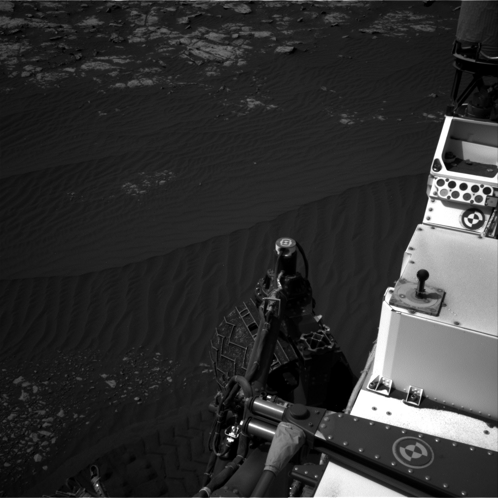 Nasa's Mars rover Curiosity acquired this image using its Right Navigation Camera on Sol 2023, at drive 1828, site number 69