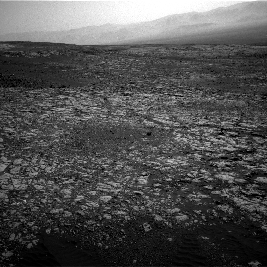 Nasa's Mars rover Curiosity acquired this image using its Right Navigation Camera on Sol 2023, at drive 1858, site number 69