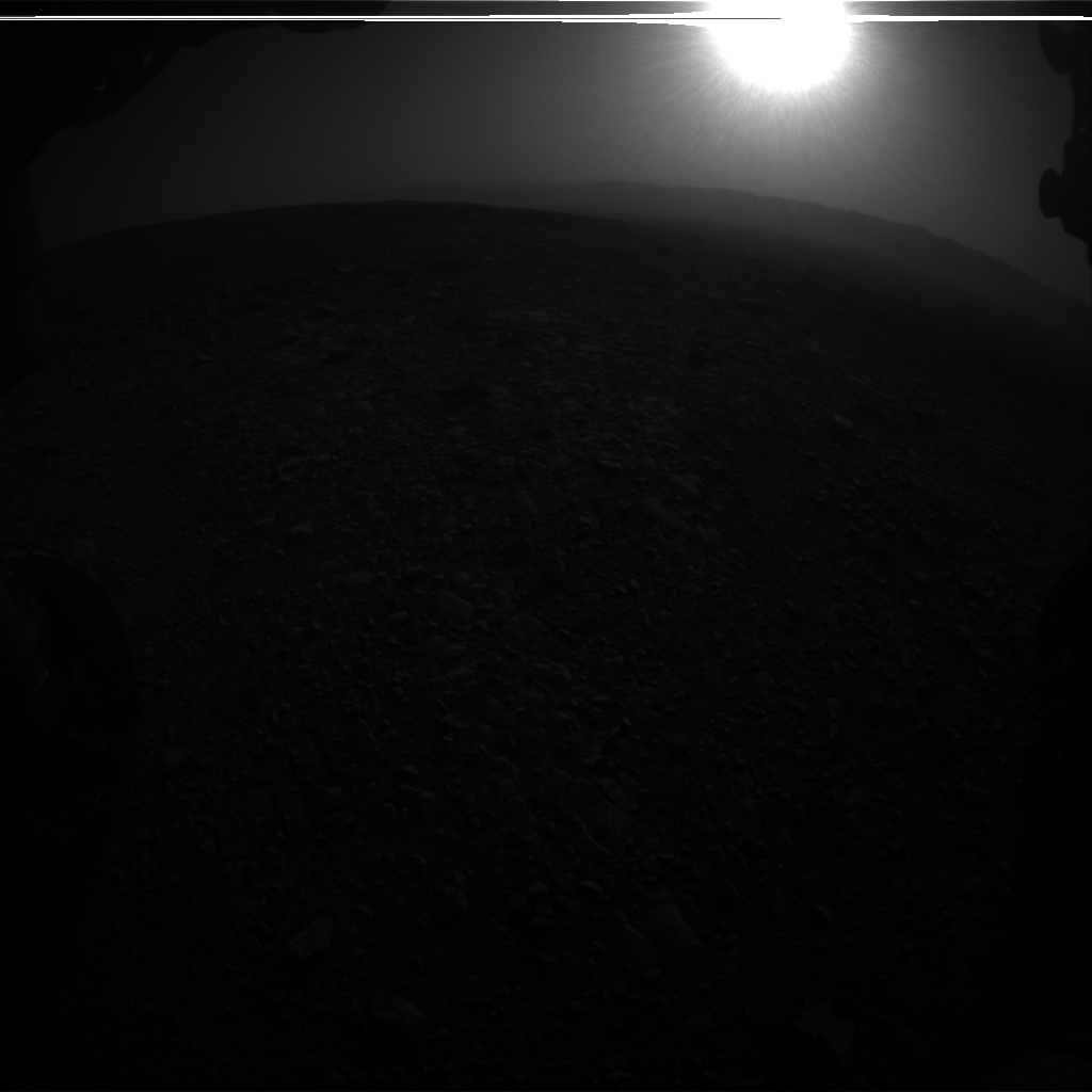Nasa's Mars rover Curiosity acquired this image using its Front Hazard Avoidance Camera (Front Hazcam) on Sol 2027, at drive 2456, site number 69
