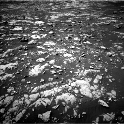 Nasa's Mars rover Curiosity acquired this image using its Left Navigation Camera on Sol 2027, at drive 1918, site number 69