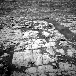 Nasa's Mars rover Curiosity acquired this image using its Left Navigation Camera on Sol 2027, at drive 1960, site number 69