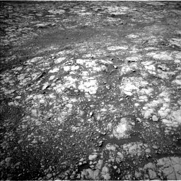 Nasa's Mars rover Curiosity acquired this image using its Left Navigation Camera on Sol 2027, at drive 2140, site number 69