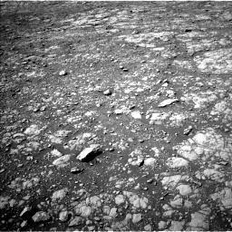 Nasa's Mars rover Curiosity acquired this image using its Left Navigation Camera on Sol 2027, at drive 2290, site number 69