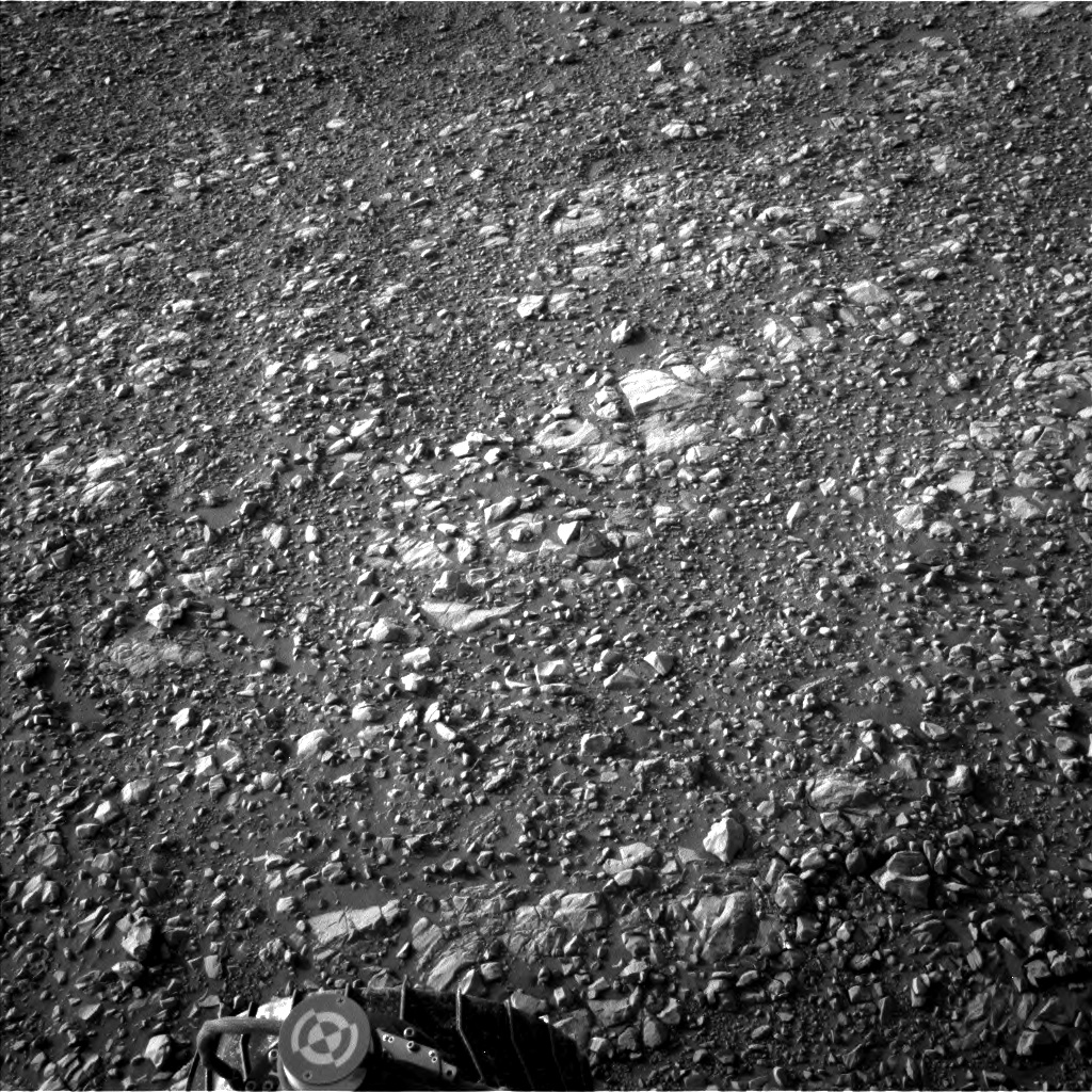 Nasa's Mars rover Curiosity acquired this image using its Left Navigation Camera on Sol 2027, at drive 2456, site number 69