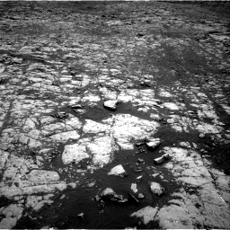 Nasa's Mars rover Curiosity acquired this image using its Right Navigation Camera on Sol 2027, at drive 1876, site number 69