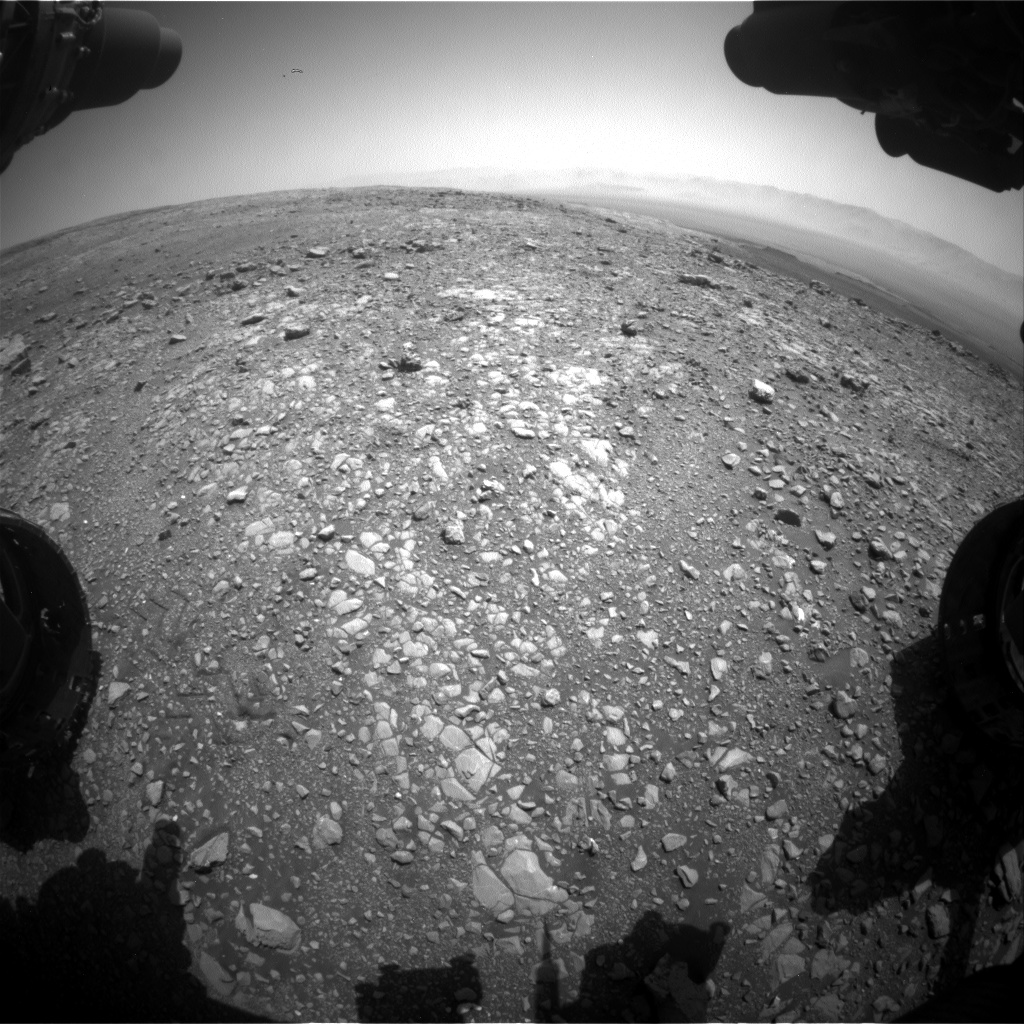 Nasa's Mars rover Curiosity acquired this image using its Front Hazard Avoidance Camera (Front Hazcam) on Sol 2028, at drive 2456, site number 69