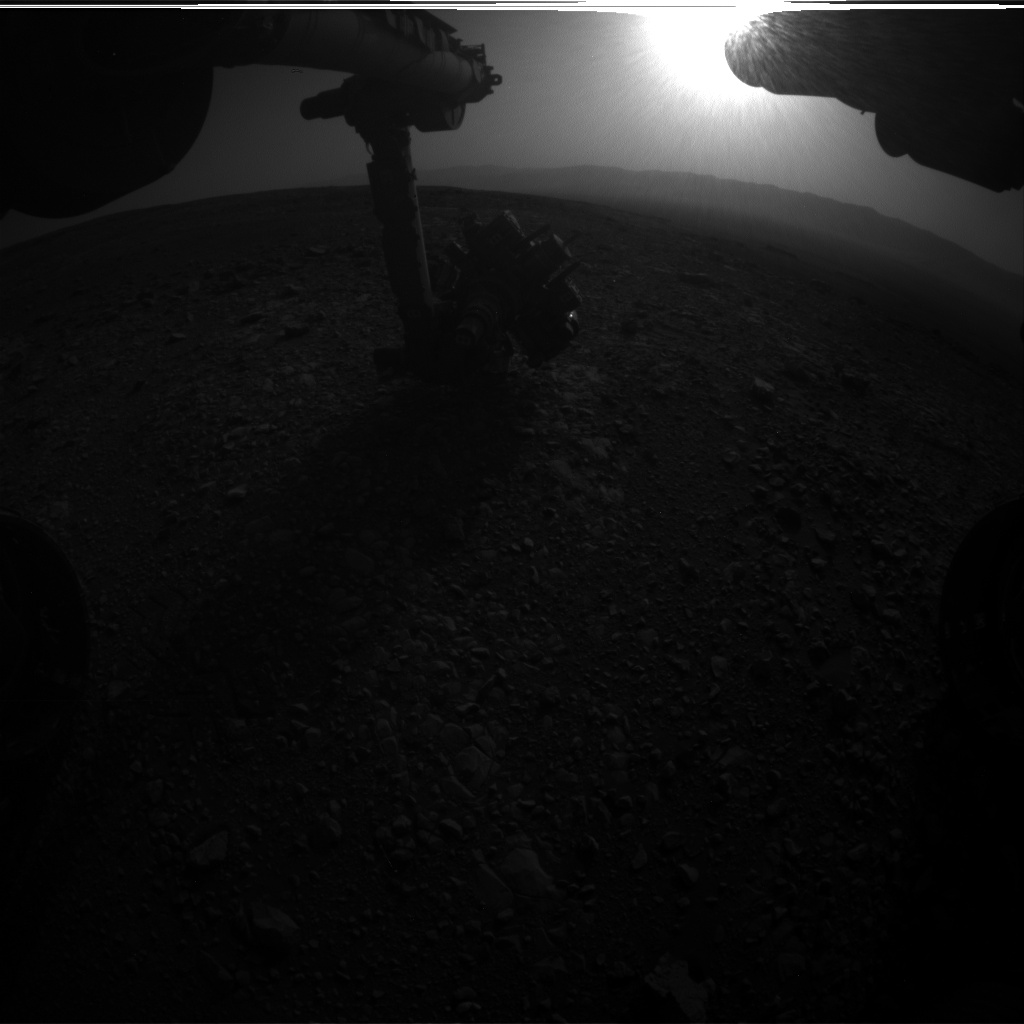 Nasa's Mars rover Curiosity acquired this image using its Front Hazard Avoidance Camera (Front Hazcam) on Sol 2029, at drive 2456, site number 69