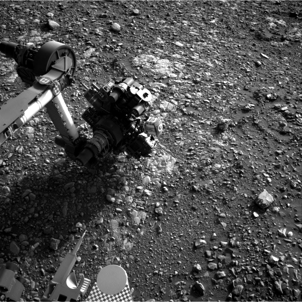 Nasa's Mars rover Curiosity acquired this image using its Right Navigation Camera on Sol 2029, at drive 2456, site number 69