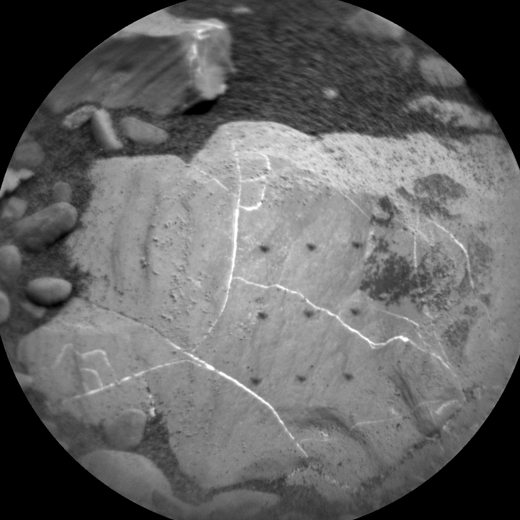 Nasa's Mars rover Curiosity acquired this image using its Chemistry & Camera (ChemCam) on Sol 2029, at drive 2456, site number 69