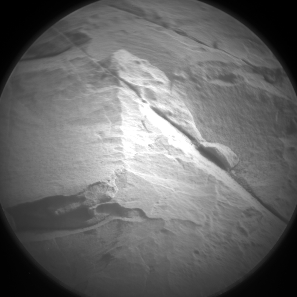 Nasa's Mars rover Curiosity acquired this image using its Chemistry & Camera (ChemCam) on Sol 2030, at drive 2594, site number 69