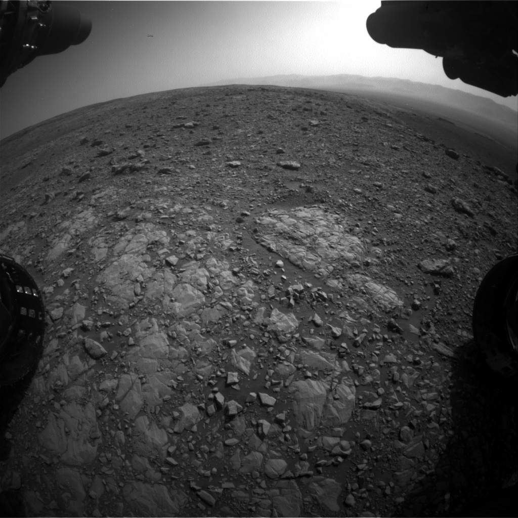 Nasa's Mars rover Curiosity acquired this image using its Front Hazard Avoidance Camera (Front Hazcam) on Sol 2030, at drive 2594, site number 69