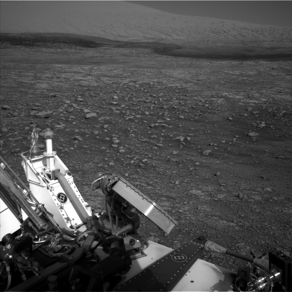 Nasa's Mars rover Curiosity acquired this image using its Left Navigation Camera on Sol 2030, at drive 2594, site number 69