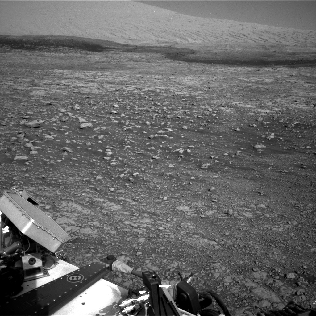 Nasa's Mars rover Curiosity acquired this image using its Right Navigation Camera on Sol 2030, at drive 2594, site number 69