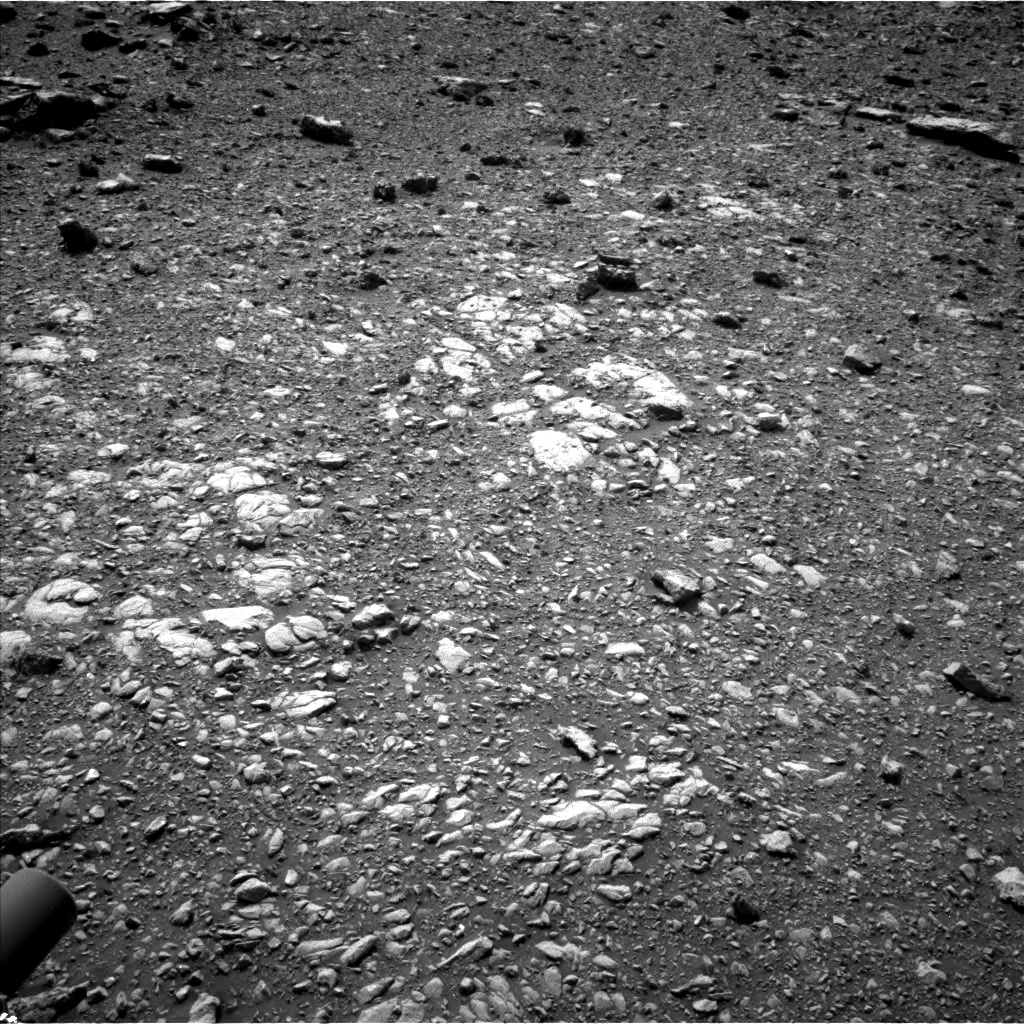Nasa's Mars rover Curiosity acquired this image using its Left Navigation Camera on Sol 2032, at drive 2708, site number 69