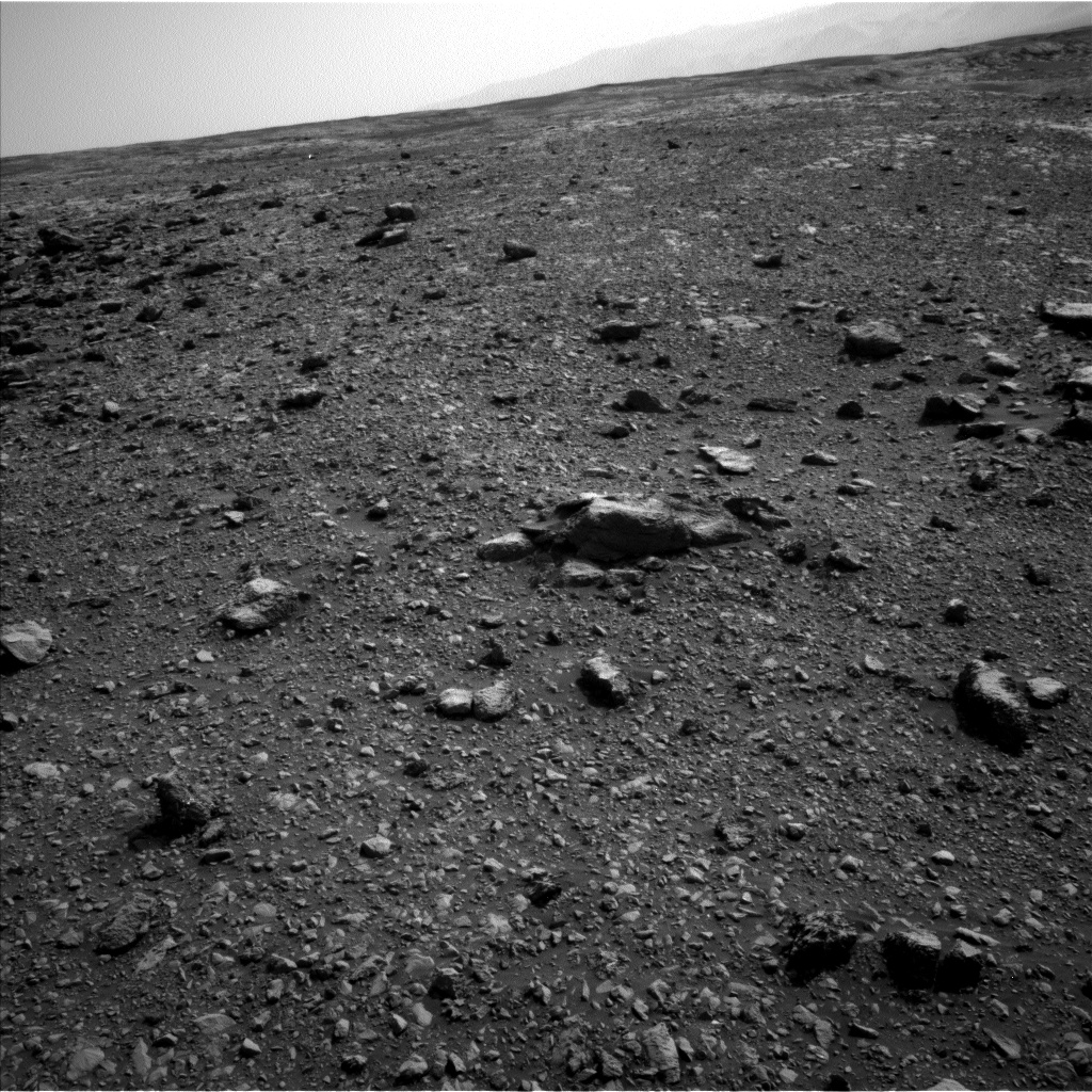 Nasa's Mars rover Curiosity acquired this image using its Left Navigation Camera on Sol 2032, at drive 2766, site number 69