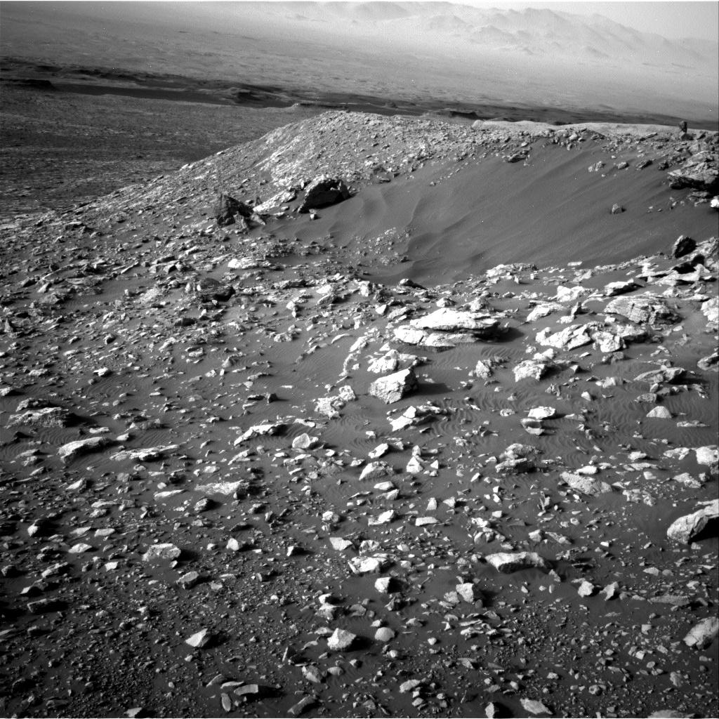 Sols 2034-2035: Descending Vera Rubin Ridge