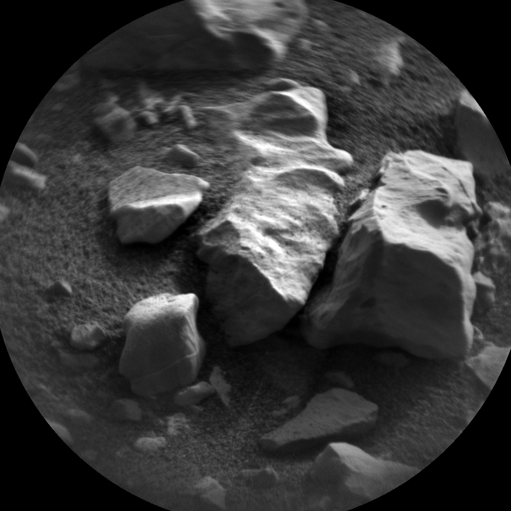Nasa's Mars rover Curiosity acquired this image using its Chemistry & Camera (ChemCam) on Sol 2032, at drive 2766, site number 69