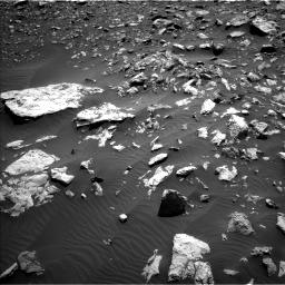 Nasa's Mars rover Curiosity acquired this image using its Left Navigation Camera on Sol 2034, at drive 2910, site number 69