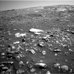 Nasa's Mars rover Curiosity acquired this image using its Left Navigation Camera on Sol 2034, at drive 2958, site number 69