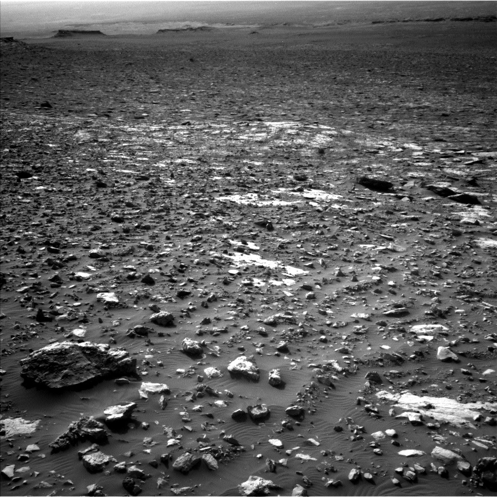 NASA's Mars rover Curiosity acquired this image using its Left Navigation Camera (Navcams) on Sol 2034