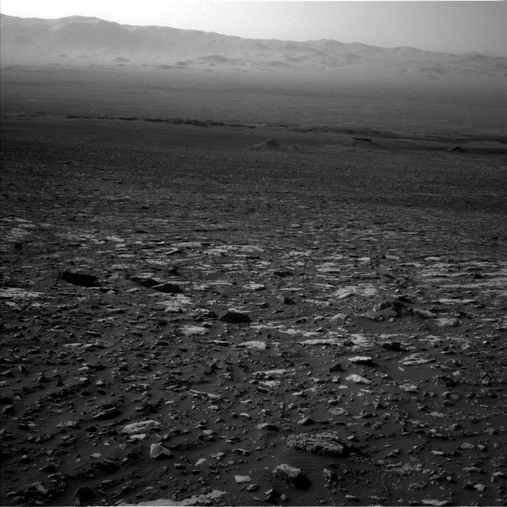 Nasa's Mars rover Curiosity acquired this image using its Left Navigation Camera on Sol 2034, at drive 0, site number 70