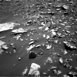 Nasa's Mars rover Curiosity acquired this image using its Right Navigation Camera on Sol 2034, at drive 2910, site number 69